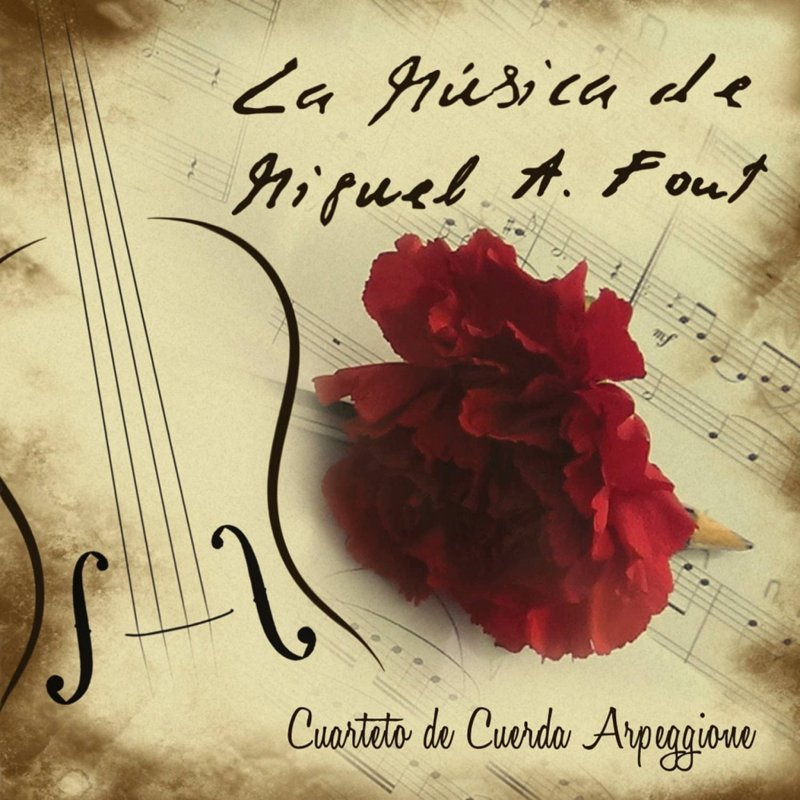 Muestra portada del disco La Música de Miguel Ángel Font
