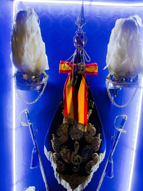 Muestra vitrina de la Agrupación Musical Virgen de la Vega (Salamanca)